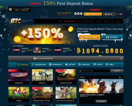 Kasino bitcoin yang sah