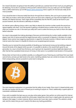 Slot bitcoin dalam talian percuma fox gunung